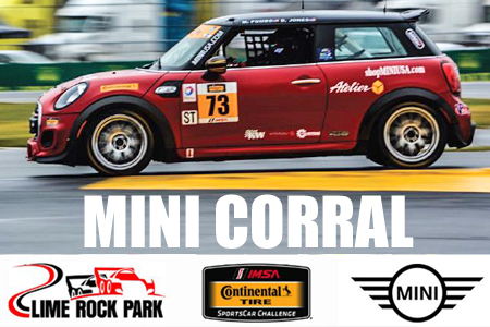 2016 IMSA July 22-23 MINI Corral